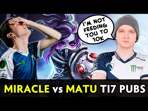Miracle vs Matu Comeback — don't mess with counterpick heroes