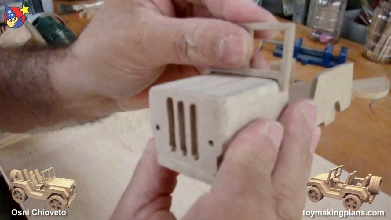 Build A Jeep >> Wood Toy Plans - Sao Paulo Jeep Wrangler - YouTube
