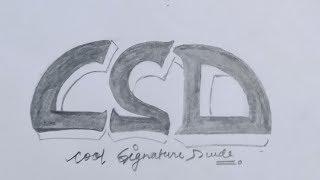 !!  Cool Signature Dude. !! LOGO of cool Signature Dude,,,,,,,,,,,