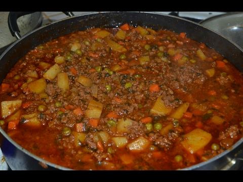 Ground Beef With Chile/Carne Molida Con Chile