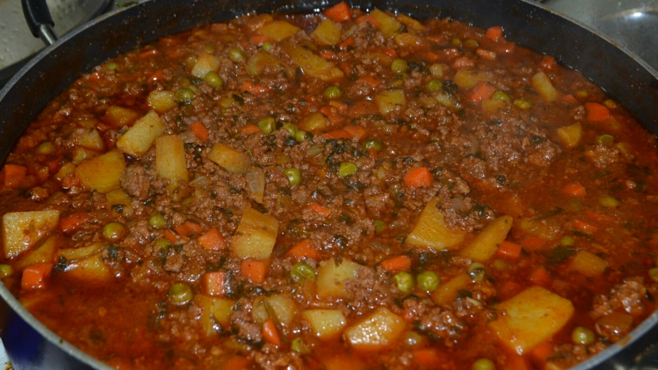 Ground Beef With Chile Carne Molida Con Chile Youtube