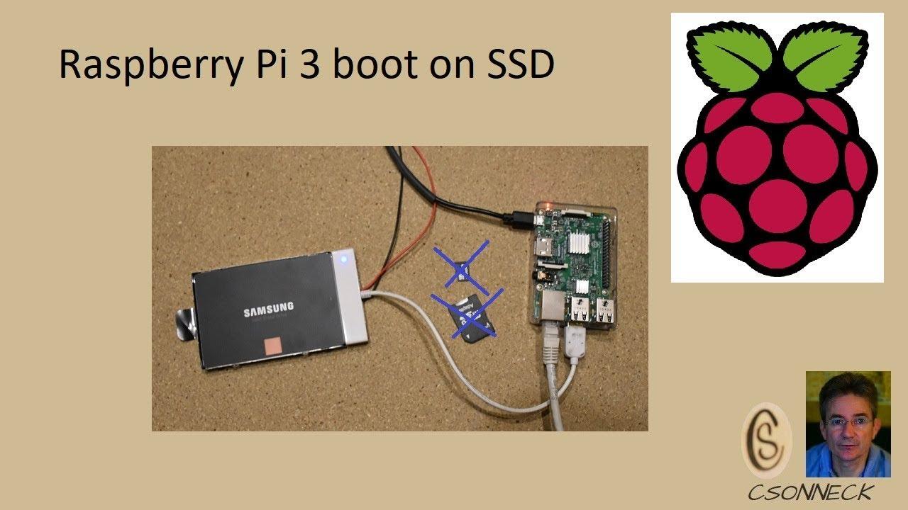 Raspberry Pi 3 boot on SSD