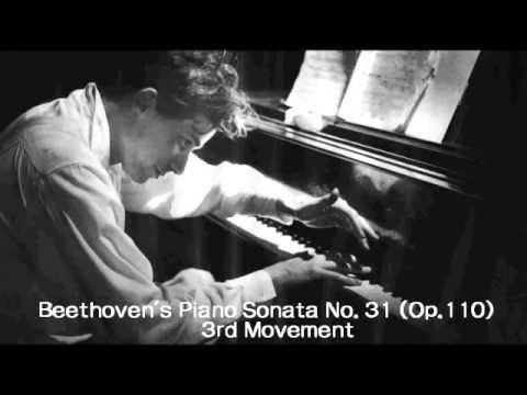 Glenn Gould - Beethoven's Piano Sonata No.31 (OP.110)  3rd Movement1 Live 1958