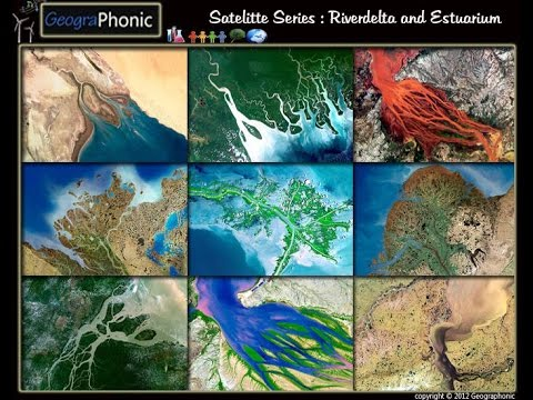 Satellite Series : River Deltas : Geography Quiz