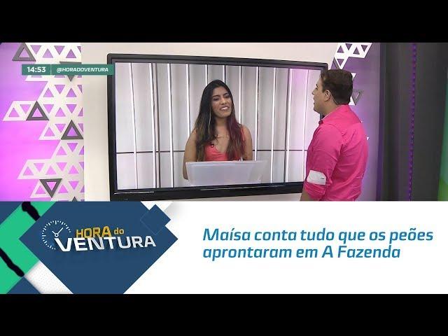 """Maísa conta tudo que os peões aprontaram em """"A Fazenda"""" - Bloco 02"""