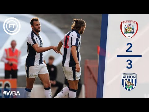 Barnsley 2 West Bromwich Albion 3 Highlights And All Goals  Great Strike By Mozza!