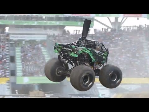 Monster Energy full Freestyle run - Argentina | Monster Jam 2018