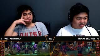 Team Secret vs Vici Gaming Game 2 | Breakout (Bo3) | Dota 2 Asia Championships 2018
