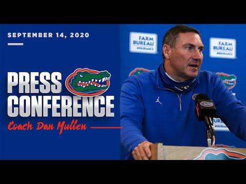 Florida Football: Dan Mullen Press Conference 9-14-20