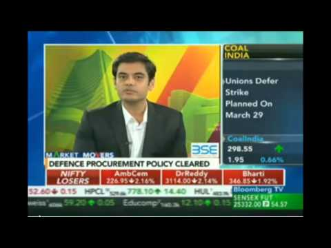Rajat Sharma on BloombergTv - Market Movers Show