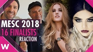 Malta Eurovision Song Contest 2018: 16 Finalists (Reaction)