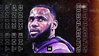 The Best Of LeBron James   18-19 Lakers Highlights Part 1   CLIP SESSION
