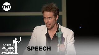 Sam Rockwell: Award Acceptance Speech | 26th Annual SAG Awards | TNT