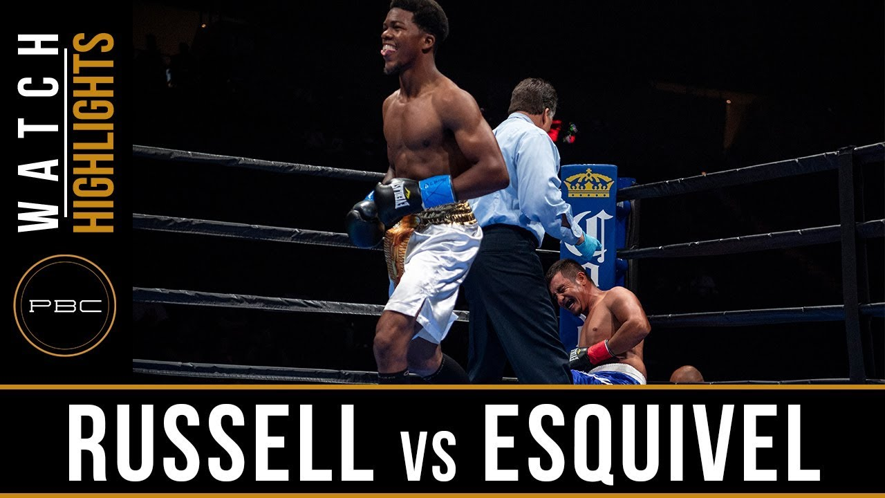 Russell vs Esquivel Full Fight: August 4, 2018