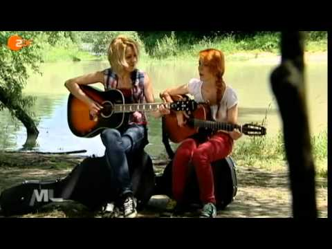 "MonaLisa Twins on German ZDF TV-Show ""Monalisa Magazin"""