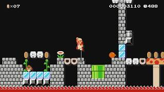 ♡ W4-4 Rescuing all Yoshis ♥ by ♪☆Peachy★♪ - Super Mario Maker - No Commentary