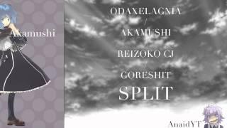 ODAXELAGNIA / AKAMUSHI / REIZOKO CJ / GORESHIT SPLIT (complete album)