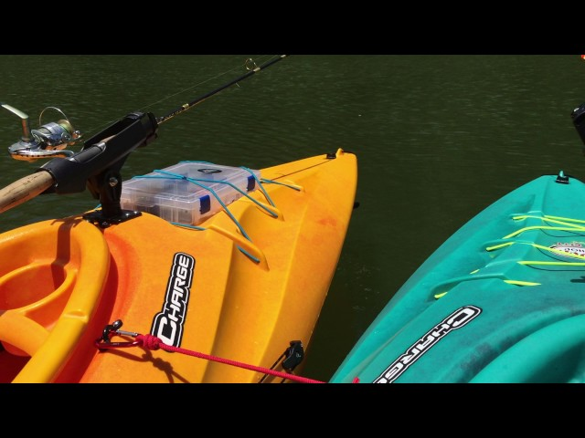 Field and stream charge kayak fishing Mods part 2