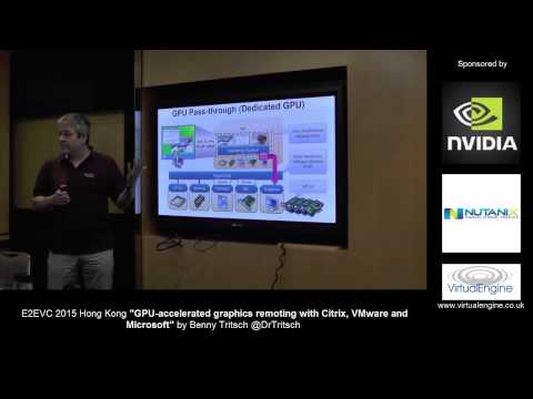 GPU accelerated graphics remoting with Citrix, VMware and Microsoft