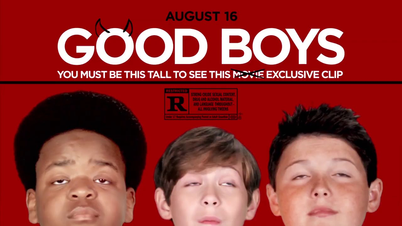 GOOD BOYS Learn how to Kiss Clip Trailer 2019 Jacob