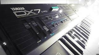 Ямаху DX7 II FM синтезатор (1987)