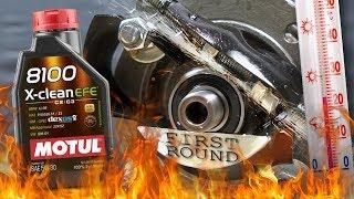 Motul 8100 X-Clean EFE 5W30 Jak skutecznie olej chroni silnik? 100°C