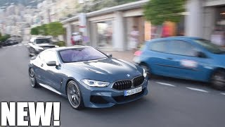 WORLD FIRST 2018 BMW M850i driving on public roads, in MONACO!