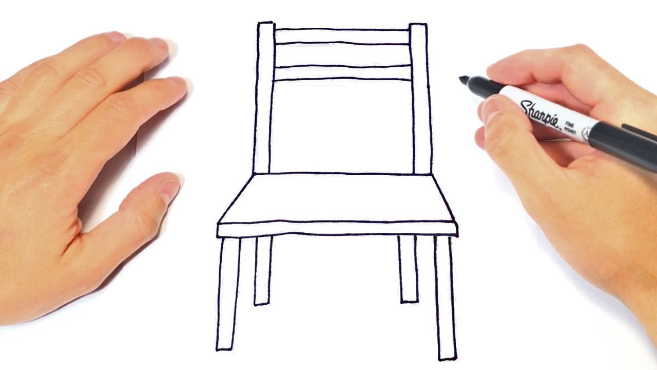 Download How to draw a Chair Step by Step | Easy drawings