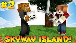 "Minecraft SKYWAY ISLAND Survival Map ""IRON SKELETONS"" #2 w/ JeromeASF & BajanCanadian"
