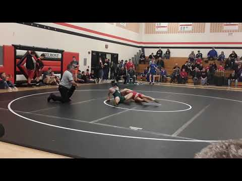 Liam Hermanson @ Boscobel High School Wrestling Tournament
