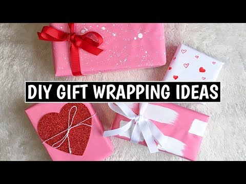 4 Easy DIY Gift Wrapping Ideas