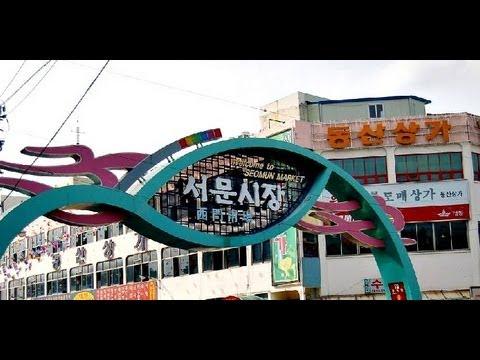 Seomun Market, Daegu (Korean market, Korean Street Food, Korean Hanbok)