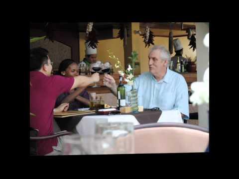 Phillip Noyce family at Don Cipriani's  Furama Resort Danang