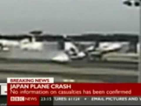 Plane Crash Tokyo