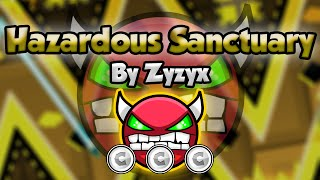 Geometry Dash [2.0] (Easy Demon) - Hazardous Sanctuary by Zyzyx - GuitarHeroStyles