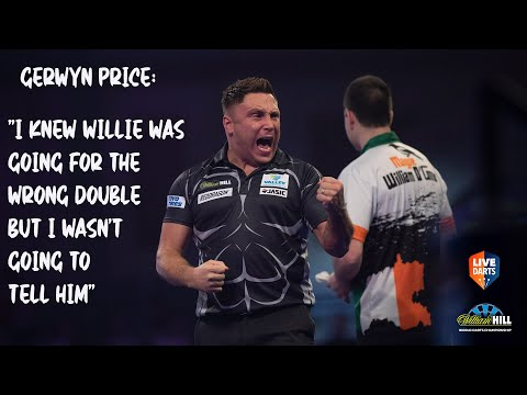 """Gerwyn Price: """"I knew Willie was going for the wrong double but I wasn't going to tell him"""""""
