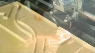 Epilog Helix 24 CO2 Laser CNC Cutting Acrylic