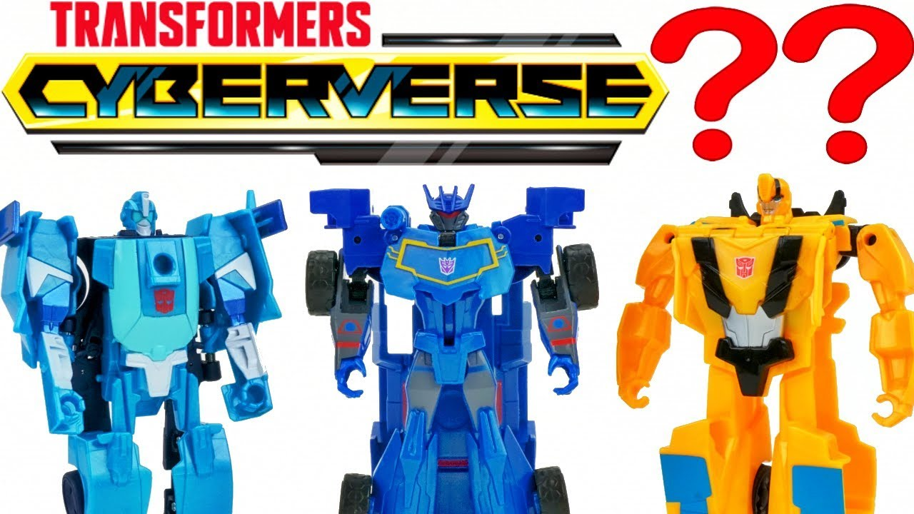 New Transformers Cyberverse One Step Changers Wave 1 Vs Robots In Disguise