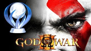 GOD OF WAR 3 - SPEEDRUN DA PLATINA EM UMA JOGADA SEM BUG
