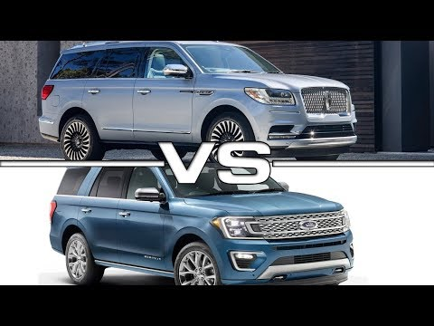 2018 FORD EXPEDITION (Max) and LINCOLN NAVIGATOR