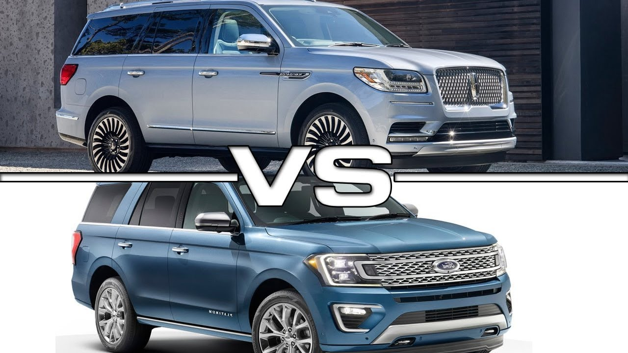 2018 Ford Expedition Max And Lincoln Navigator