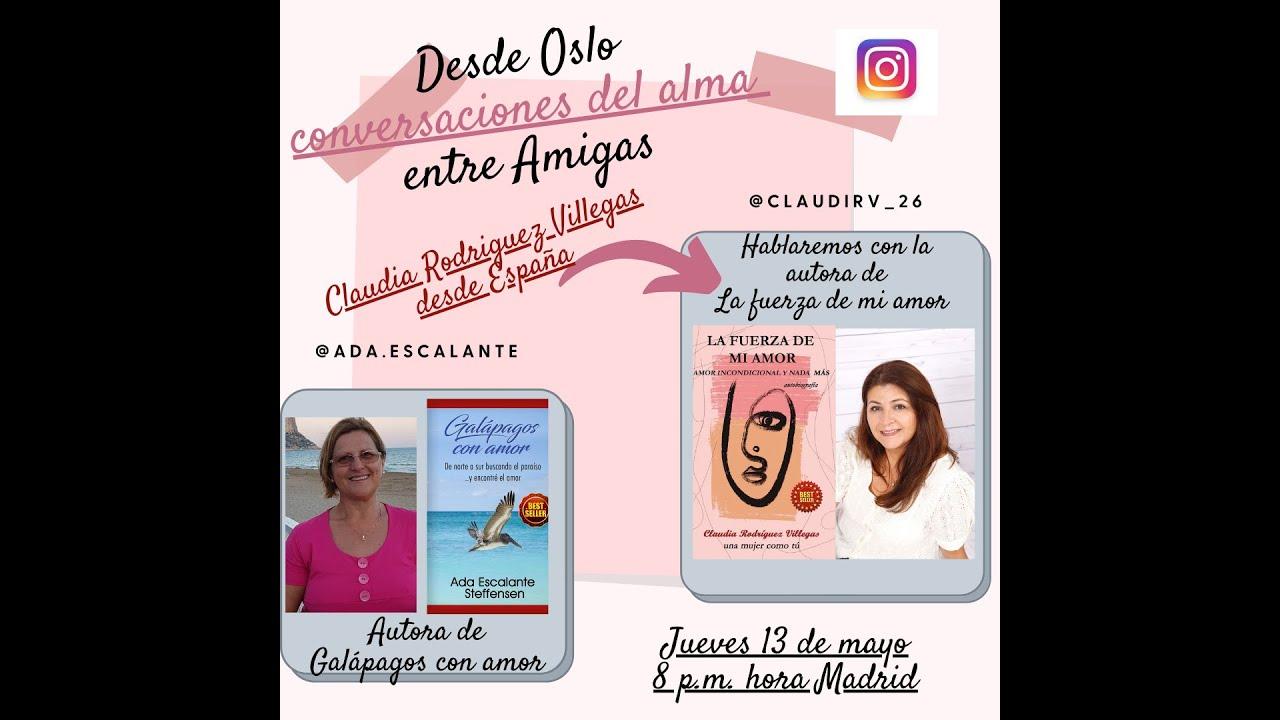 Conversaciones del alma, invitada Claudia Rodriguez