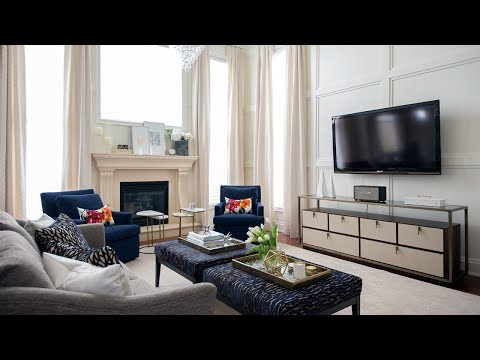 Interior Design —  How To Design A Two-Storey Family Room