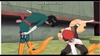 Gaara vs Rock Lee | Full Fight (English Dub) 1\5