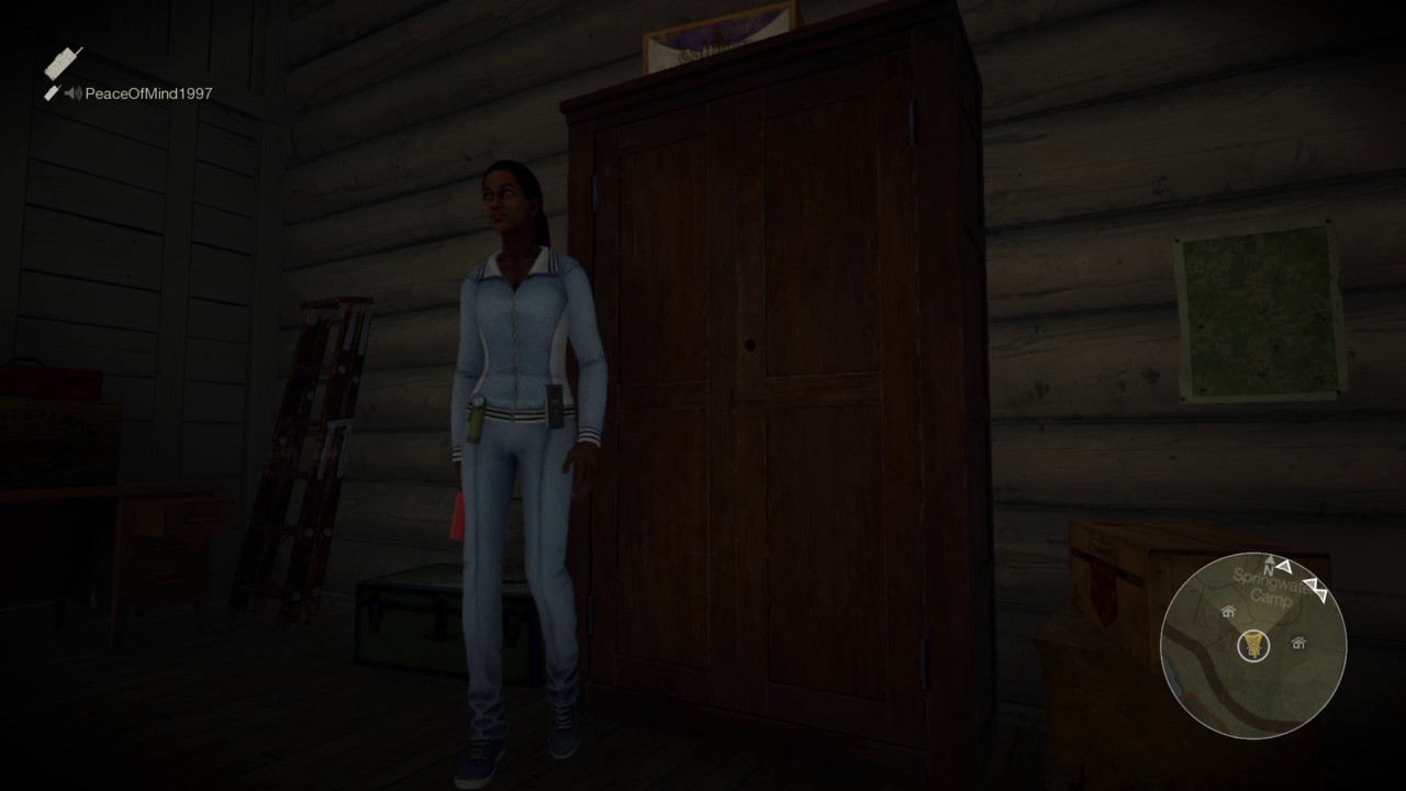 Friday The 13th: The Game Closet Glitch.