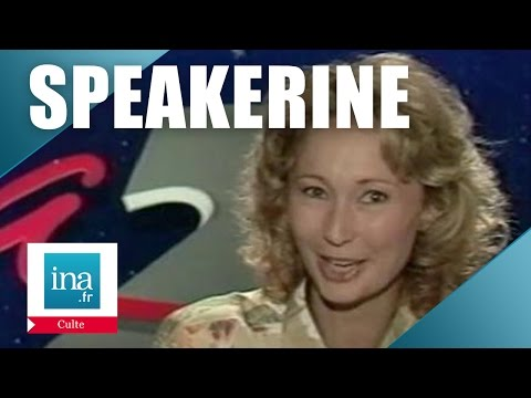 Speakerine 1990 Florianne Blitz | Archive INA