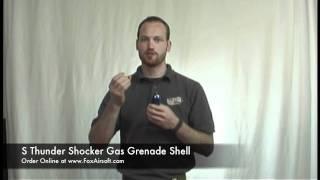 S Thunder Shocker Gas Grenade Shell