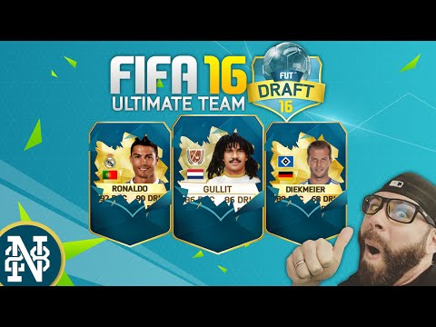 FIFA 16 FUT DRAFT! AGUERO AND NEYMAR ARE INSANE! Ultimate Team first impressions!