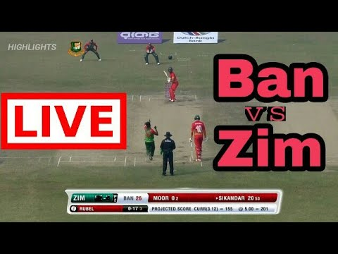 bangladesh vs zimbabwe live streaming hd tri nation series live score youtube. Black Bedroom Furniture Sets. Home Design Ideas