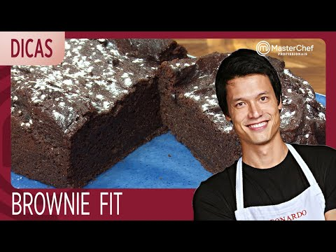 BROWNIE FIT Com Leo Young | DICAS MASTERCHEF